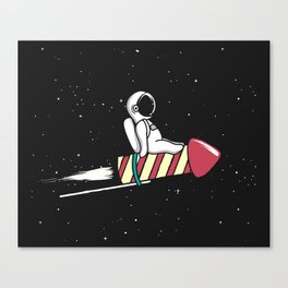 Regular Space Flights Canvas Print