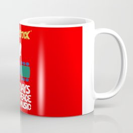 Woodstock 1969 - red background Coffee Mug