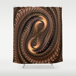 Chocolate Delight Shower Curtain