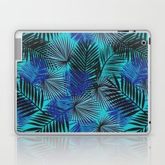 Tropical Blue Palms Laptop & iPad Skin