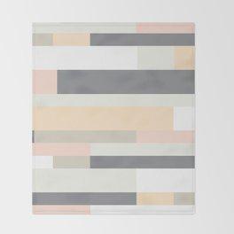 Pasteli Rayas Throw Blanket