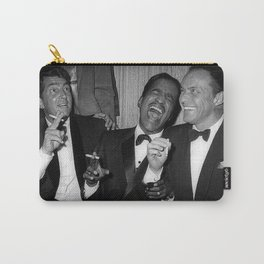 The Rat Pack - Frank Sinatra, Dean Martin, Sammy Davis Jr. Laughing Carry-All Pouch