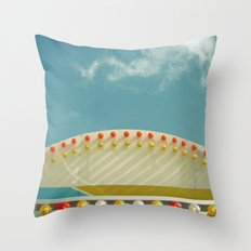 Fairground Lights I Throw Pillow