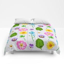 Pressed Flowers Comforters