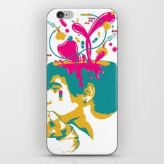 Liquid thoughts:Boy iPhone & iPod Skin