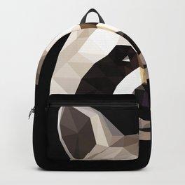 Raccoon Polygon Head Geometric Animals Geometry Backpack