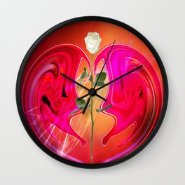 Groovy Love Wall Clock