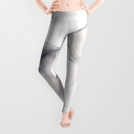 Beluga and baby beluga whale Leggings