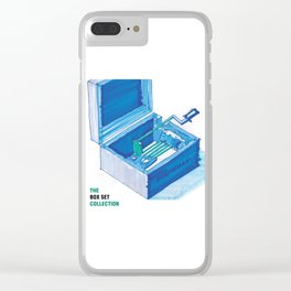 The Box Set Collection Clear iPhone Case