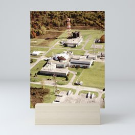 Abandoned Reactor Facility Mini Art Print