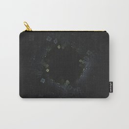 Lazy Crystal Growth Carry-All Pouch