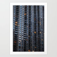 Balconies & Windows Art Print