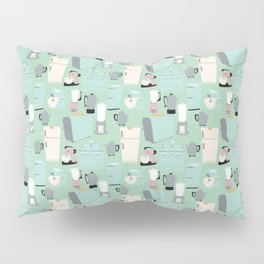 Retro Kitchen Pillow Sham