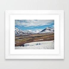 ísland II Framed Art Print