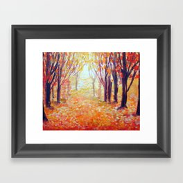 Where Has My Love Gone ~ Colors of Fall Framed Art Print