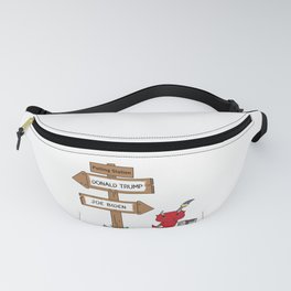 Polling Station Misdirection Fanny Pack