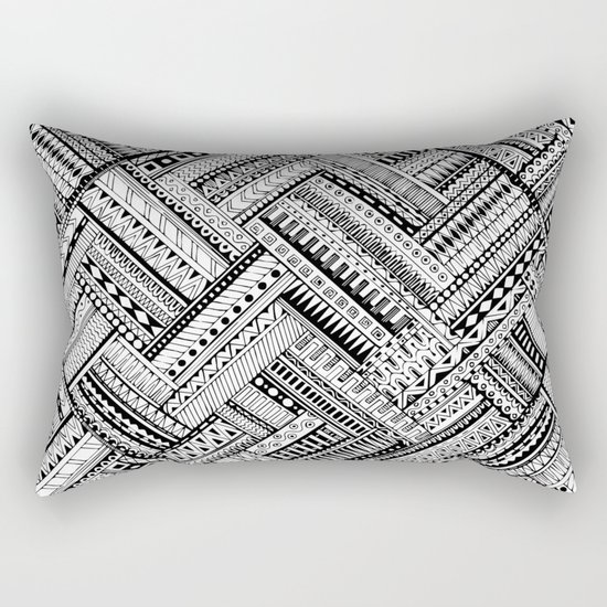 Urban Texture Rectangular Pillow
