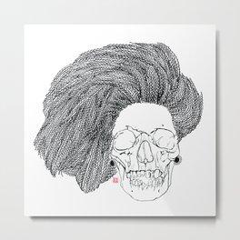 She is CHANEL Metal Print