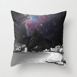 Ipanema's Universe Throw Pillow