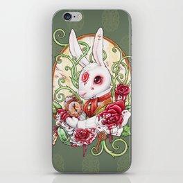 Rabbit Hole iPhone Skin