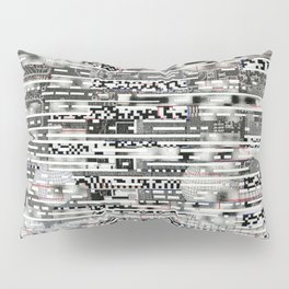 Removing Filters (P/D3 Glitch Collage Studies) Pillow Sham