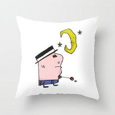 Garabatos Throw Pillow