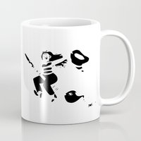 witchcraft Mugs featuring Art is witchcraft by Koni