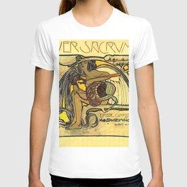"Koloman (Kolo) Moser ""Ver Sacrum Poster"" T-shirt"