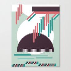 Moustache Mountain Canvas Print