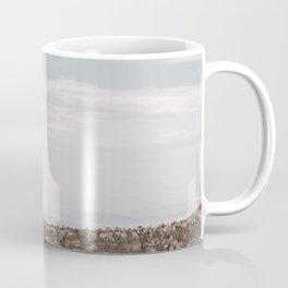 Blue Mountain Mojave // Vintage Desert Landscape Cactus Plants Nature Scenery Photograph Decor Coffee Mug