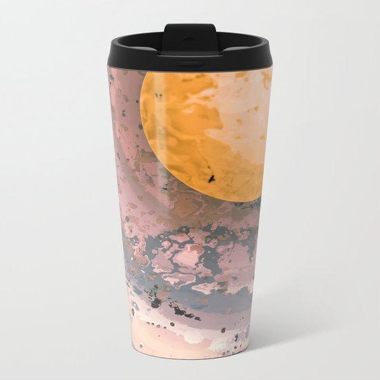 Dust 02 - Post Biological Universe Metal Travel Mug