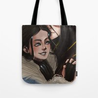 zuko Tote Bags featuring Betrothal Necklace by Larelley