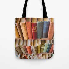 The Colorful Library Tote Bag