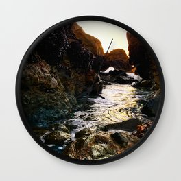 Pacifica Tide Pools Wall Clock