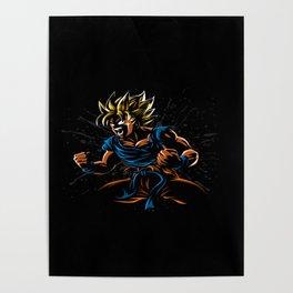 power goku Poster