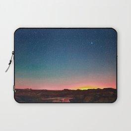 Bisti Badlands Hoodoos Under New Mexico Stary Night Laptop Sleeve