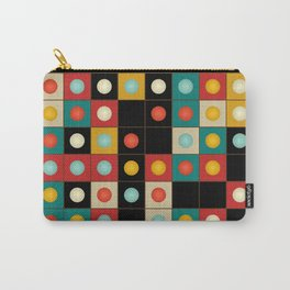 Colors on black Carry-All Pouch