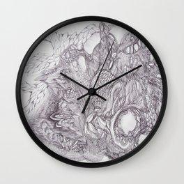 Flourish Wall Clock