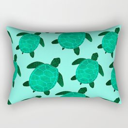 Turtle Totem Rectangular Pillow