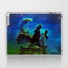 NEbula. : Teal Green Pillars of Creation Laptop & iPad Skin