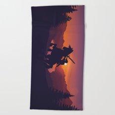 Legend Of Zelda Link Beach Towel