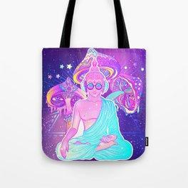 Colorful Buddha Tote Bag