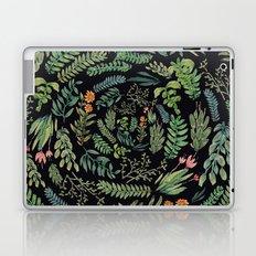 circular garden at nigth Laptop & iPad Skin