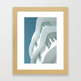Art Deco Miami Beach #7 Framed Art Print