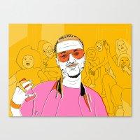 riff raff Canvas Prints featuring Riff Raff by Dewey Bryan Saunders