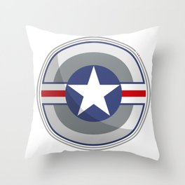A Fictitious Shield Throw Pillow