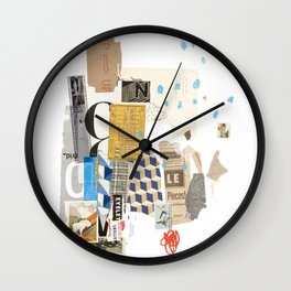 It Always Works Out Wall Clock