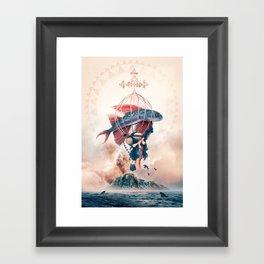 FlyFish Framed Art Print