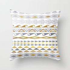 flash tattoo pattern Throw Pillow