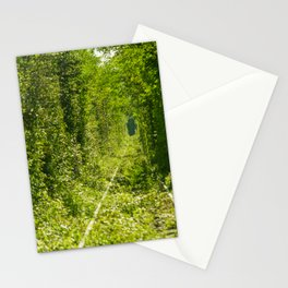 Tunnel of love Romania Stationery Cards